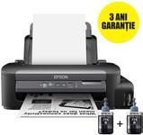 Imprimanta Epson WorkForce M105, inkjet, A4, 34 ppm, Wireless, CISS