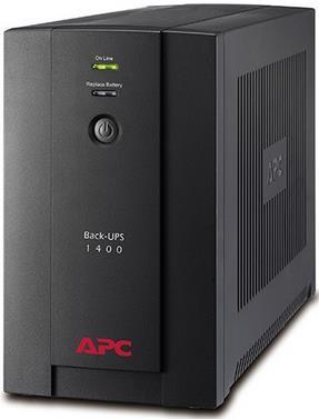 UPS APC Back-UPS BX1400U-GR, 1400VA/700W, 4 x Schuko, Management