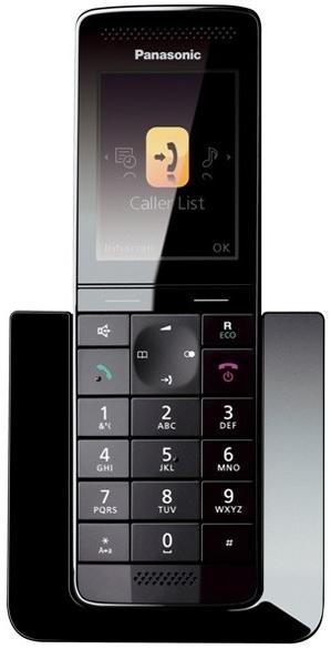 Telefon Fix Panasonic KX-PRS110FXW (Negru/Alb)