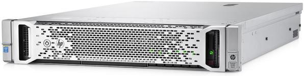 """Server HP ProLiant DL380 Gen9 (Intel Xeon E5-2609 v3, Haswell, 1x8GB @2133MHz, DDR4, RDIMM, No HDD, Maxim 4x3.5"""", 500W PSU)"""