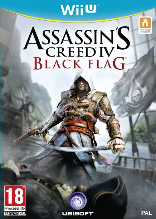 assassins creed: black flag - editie d1 (wiiu)
