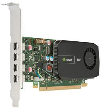 Placa Video profesionala HP NVS 510, 2GB, 4 x mini DisplayPort