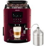 Espressor automat Krups EA816570, 1450 W, 1.7 l, 15 bari (Rosu)