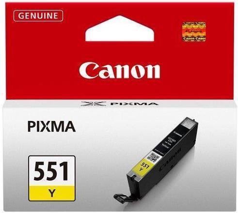 Cartus cerneala Canon CLI-551Y (Galben) poza 2021