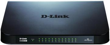 Switch D-Link GO-SW-24G/E, Gigabit, 24 porturi