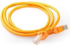 Cablu UTP Gembird PP12-0.25M/O, Patchcord, CAT5e, 0.25m (Portocaliu)