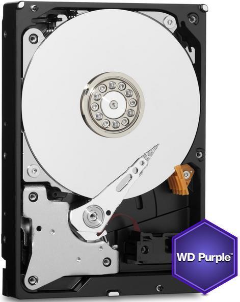 HDD Western Digital Purple, 3TB, SATA III 600, 64MB Buffer - dedicat sistemelor de supraveghere