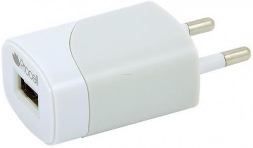 Incarcator Retea Procell IRPUSBU110, 1 USB, A1 (Alb)