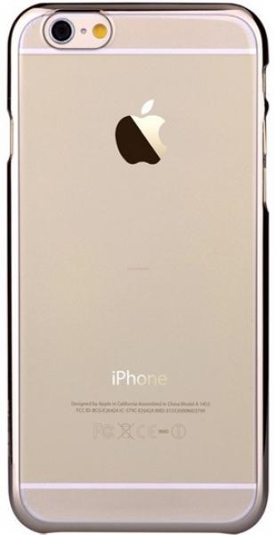 Protectie spate Devia Glimmer Champagne pentru iPhone 6/6S (Auriu)