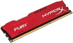 Memorie Kingston HyperX Fury Red Series DDR3, 1x4GB, 1600 MHz