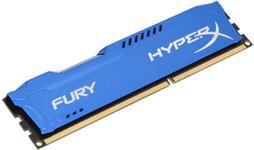 Memorie Kingston HyperX Fury Blue Series DDR3, 1x8GB, 1600 MHz