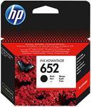 Cartus de cerneala HP 652, acoperire 360 pagini (Negru)