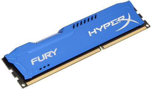 Memorii Kingston HyperX Fury Blue Series DDR3, 1x8GB, 1866 MHz