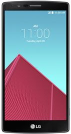 Telefon Mobil LG G4, Procesor Hexa Core Qualcomm MSM8992 Snapdragon 808, IPS Quantum capacitive touchscreen 5.5inch, 3GB RAM, 32GB Flash, 16MP, 4G, Wi-Fi, Android (Negru/Piele)