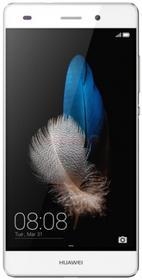 Telefon Mobil Huawei P8 Lite, Procesor Octa-Core 1.2GHz, IPS LCD Capacitive touchscreen 5inch, 2GB RAM, 16GB Flash, 13MP, Wi-Fi, 4G, Dual Sim, Android (Alb)