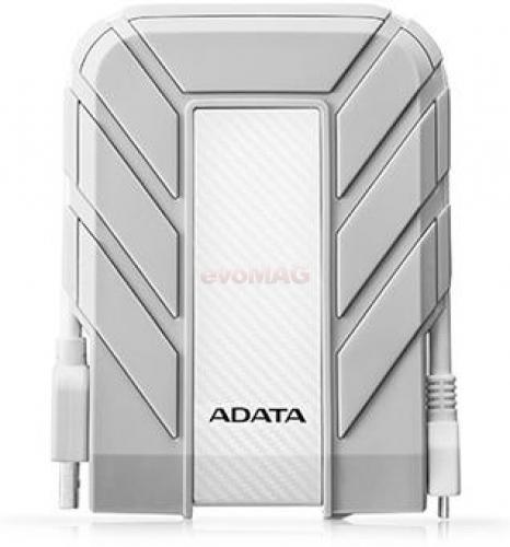 HDD Extern A-DATA HD710A, 2.5inch, 1TB, USB 3.0, rezistent la apa si socuri (Alb)( 37979)