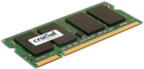 Memorie Laptop Crucial SO-DIMM, 1x4GB, DDR2, 800MHz, 1.8V CL6