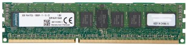 Memorie Server Kingston 1x8GB, DDR3L, 1600MHz, CL11, 1.35V, 1Rx4, w/TS