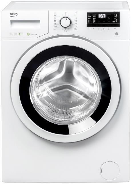 Masina de spalat BEKO Slim WKY71233PTLYB3, 7Kg, 1200 Rpm, Clasa A+++ (Alb)