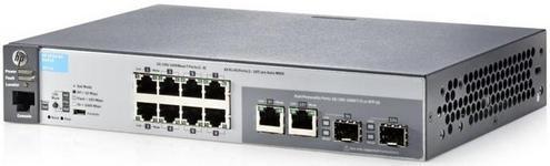 Switch HP J9777A, Gigabit, 8 Porturi, Layer 2