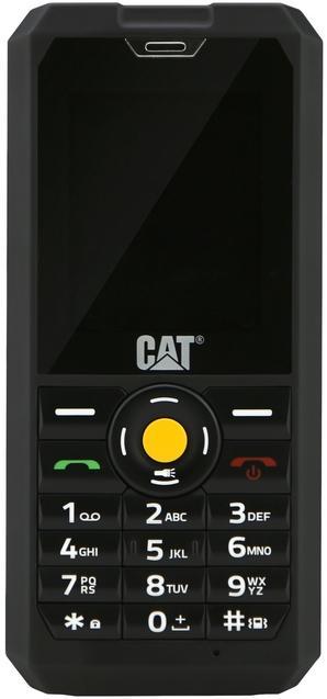 Telefon Mobil CAT B30, TFT 2inch, Bluetooth, 3G, Rezistent la apa si praf (Negru)