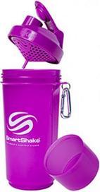 Sticla pentru sport si drumetii Smart Shake SLIM 500 M, 500ml (Mov)