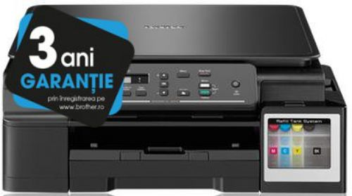 Multifunctional Brother DCP-T500W, Inkjet, gama InkBenefit Plus, A4, Wireless, CISS