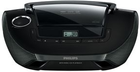 Micro Sistem Philips AZ1837, CD/MP3 Player (Negru)