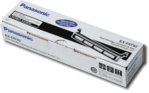 Toner Panasonic KX-FAT92E (Negru) poza 2021