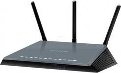 Router Wireless Netgear R6400, Gigabit, Dual Band, 1750 Mbps, 3 Antene externe