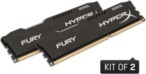 Memorii Kingston HyperX FURY Black Series DDR3L, 2x4GB, 1600 MHz, CL 10