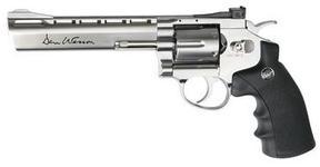 Revolver Airsoft PNI-DW6 Dan Wesson, 6 inch, argintiu, cu CO2, calibru 6 mm