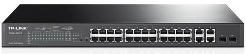 Sitch TP-Link T1500-28PC PoE+, 24 porturi, Gigabit