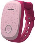 Smartwatch LG Kizon W105T, 3G, Curea silicon, pentru Copii, Rezistent la apa si praf (Roz)