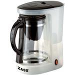 Cafetiera Zass ZCTM01, 600W, 8 cesti, 1L (Alb)