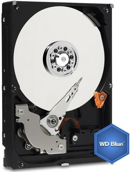 hdd desktop western digital blue, 4tb, sata iii 600, 64mb buffer