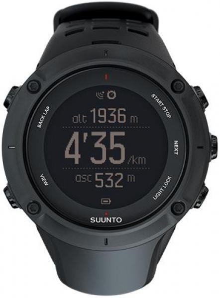 Ceas activity tracker Suunto Ambit3 Peak Black (Negru)