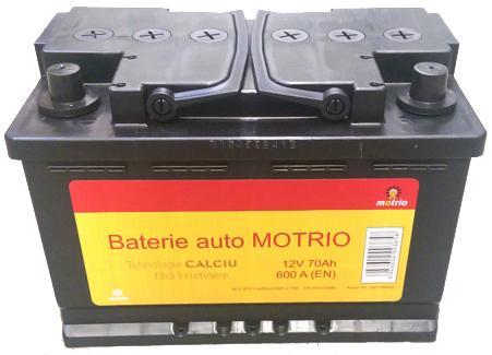 Baterie Auto Motrio 6001998868, 12V, 70 Ah
