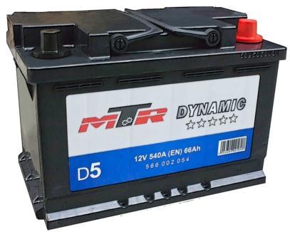 Baterie Auto Mtr-am Mtr Dynamic L3 566002054  12v  66 Ah