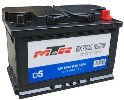 Baterie Auto MTR-AM MTR Dynamic L3 572002060, 12V, 72 Ah