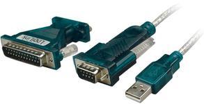 Cablu adaptor Logilink UA0042A USB 2.0 la Serial/Paralel, 1.2m