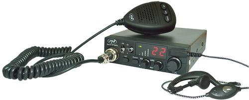 Statie radio CB PNI Escort PNI-HP8001L ASQ, 4W, include casti cu microfon HS81