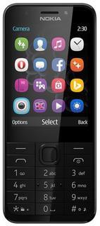 Telefon Mobil Nokia 230, TFT 2.8inch, 2MP, Dual Sim (Gri)