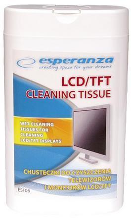 Lavete curatare monitor Esperanza ES106, 100 buc.