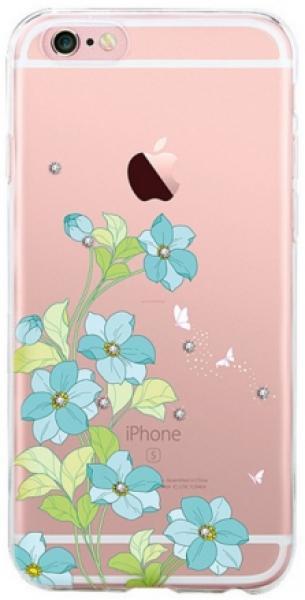 Protectie spate Devia Bluebell DVBBLIPH6BL pentru Apple iPhone 6/6S (Albastru)