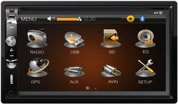 "Player DVD Auto Kruger&Matz KM2003, 4x40W, TFT Capacitive touchscreen 6.95"", Bluetooth, USB, GPS"