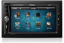 "Player Auto Peiying PY9908, 4x40W, TFT Capacitive touchscreen 6.2"", Bluetooth, USB/microSD, GPS"