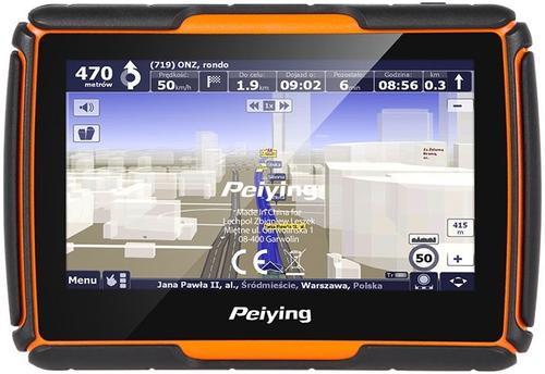 Imagine indisponibila pentru Sistem de navigatie Peiying PY-GPSMOT01, LCD Capacitive touchscreen 4.3inch, Procesor 800MHz, 128MB RAM, 8GB Flash, Fara Harta, Dedicat pentru motociclete