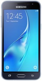 "Telefon Mobil Samsung Galaxy J3 (2016), Procesor Quad-Core 1.5GHz, Super Amoled Capacitive touchscreen 5"", 1.5GB RAM, 8GB Flash, 8MP, 4G, Wi-Fi, Android (Negru)"