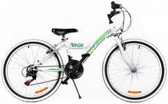 """Bicicleta MTB Passati Fox, Roti 24"""" (Alb/Verde)"""